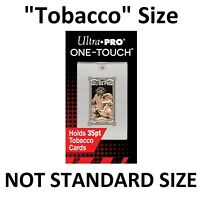 TOBACCO SIZE Ultra Pro One-Touch Magnetic Card Holder Protector UV Protection