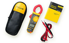 New FLUKE clamp Meter 317 true-rms 37mm AC DC 6000 0.01 w/ Orginal Case