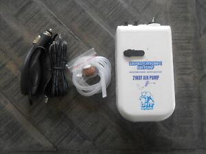Köderfischpumpe Sauerstoffpumpe Luftpumpe Batterie und 12V Autostecker Behr