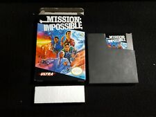 Nintendo NES, Ultra Games, Mission: Impossible, Complete in Box