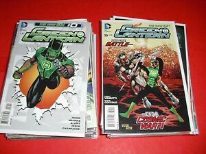 Green Lantern 0 1-52 + Annual 1-4 all around VF/NM! DC New 52 set run 2011 2849