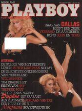 Dutch Playboy Magazine 1984-03 Daphne Walters, Landers Sisters ...