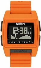 Nixon Women's Base Tide A1212211-00 38mm Black Dial Silicone Watch