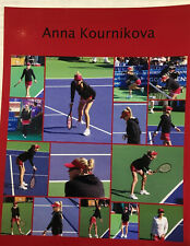 Anna Kournikova Candid 8x10 Color Photograph 2009 Charity Tennis Event