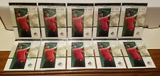 TIGER WOODS #51 2001 SP AUTHENTIC PREVIEW 10 CARD ROOKIE LOT** REAL SWEET LOT**