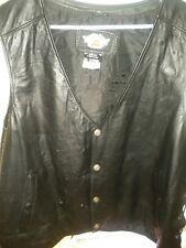Harley-Davidson Men's Pathway Leather Vest 98103-02VM  MED