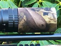 Hawke Scope Sunshades Covers in Camouflage Neoprene - Choose Your Size
