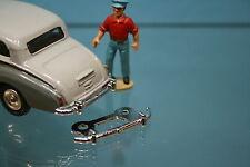 DTGB145 - Pare choc Arrière pour Rolls Royce Silver Wraith Dinky Toys 150