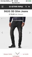 """G-Star Raw """"5620 3d Slim"""" Jeans W30 L32"""
