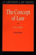 The Concept of Law (Clarendon Law Series) by