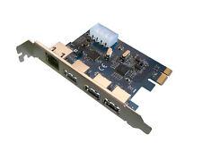 Tarjeta controladora PCIE 3 puertos USB3 + 1 GIGABIT ETHERNET A TRAVÉS DE/ASIX
