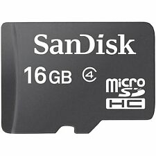 Sandisk 16GB Micro SD Memory Card Class 4