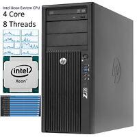 HP Z220 Workstation Intel Xeon E3-1280v2 4GHz > 32GB ram 256GB SSD quadro K600