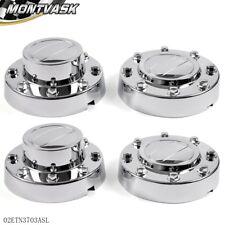 Pair Alcoa Alloy Wheel Center Caps Set For 11 - 16 DODGE RAM 3500 1-TON Dually