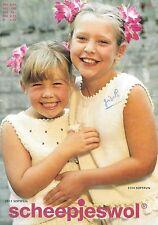 Catalogue tricot SCHEEPJESWOL n° 2003/ENFANTS 4 à 12 ans et FEMMES/23 modèles
