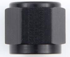 Fragola 481806-BL -6 AN Tube Sleeve Nut Aluminum Steel Line Anodized Black