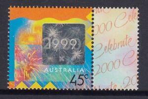 Australia 1999 CELEBRATE 2000 Hologram  Single Stamp MNH Price  $1.00