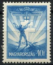 Mint Hinged Postage Hungarian Stamps