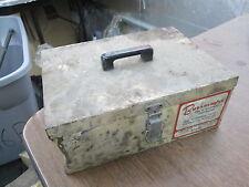 Vintage Borroughs Automotive Factory Dealer Specialty Service Tool Box Man Cave