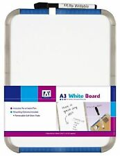A3 Whiteboard With Pen - Size 405mm X 305mm Mounting Options Included