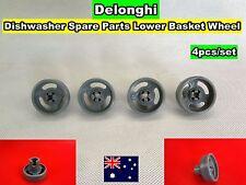 Delonghi Dishwasher Spare Parts Lower Basket Wheel 4pcs/set (D24) Brand New