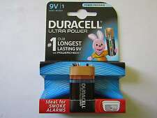 5x 9v Ultra Power blister Alkaline batería Duracell ar1704