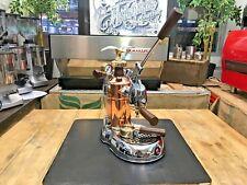 LA PAVONI LA GRANDE BELLEZZA LEVA BRONZE ESPRESSO COFFEE MACHINE LATTE HOME CAFE