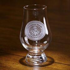YOUR LOGO carved on 2 Glencairn Whiskey glasses (Set of 2)