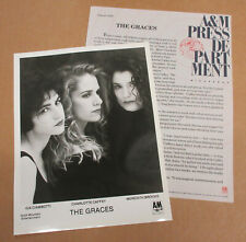 The GRACES Perfect View 1989 US Promo PRESS KIT Meredith BROOKS Go Go's CAFFEY