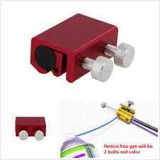Red/Blue Aluminum Motorcycles Cable Lubricator Brake Clutch Luber Oiler 2 Bolts
