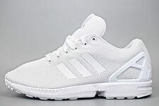 Authentic Adidas Originals ZX FLUX ® ( Men UK 9 EUR 43.5 ) Full Triple White