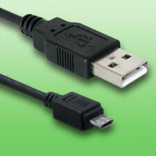 USB Kabel für Panasonic Lumix DC-TZ96 - Datenkabel - Länge 2m - vergoldet