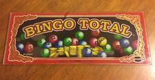 BINGO Total Slot Machine Glass Art IGT Sign Mirror Casino Gambling Las Vegas