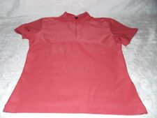 Nike T-Shirt Short Sleeve Round Neck Tops Sexy Women Size L in Light Salmon