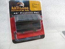 MILLET 45 DEGREE PICATINNY RAIL ADAPTER FLASHLIGHT LASER WEAVER TOO 607