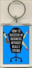How To Succeed In Business Without Really Trying The Musical. Keyring / Bag Tag.