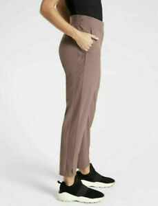 ATHLETA Brooklyn Ankle Lightweight Travel Pant  Hearth Rose Size 6 NWT