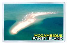 PANSY ISLAND MOZAMBIQUE FRIDGE MAGNET SOUVENIR IMAN NEVERA