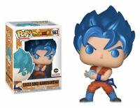 Funko Pop! Metallic SSGSS Goku Kamehameha #563 Chalice Collectibles DBZ Super