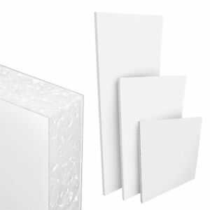 PVC White Flat Infill Door Panel 975mm x 2175mm Cut To Size Service Available