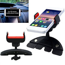 360° Handy CD Slot Car Mount Holder Stand for iPhone Samsung Smart Phone GPS GT