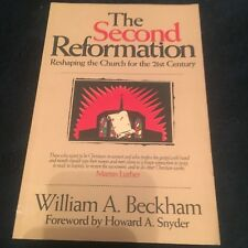 WILLIAM A. BECKHAM SIGNED BOOK. THE SECOND REFORMATION. 1880828901