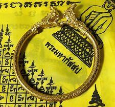 MAGIC NAGA  HEADS BRACELET BANGLE BUDDHA THAI AMULET TALISMAN WEALTH SEX DEVIL