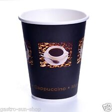 Coffee to go Becher 48 cl Bean Hartpapierbecher 0,4 l Kaffeebecher Pappe