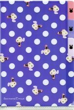 San-X Sentimental Circus Index 3 Pockets A6 Mini Plastic File Folder #7