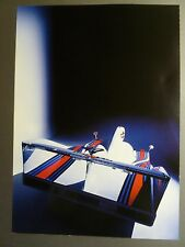 1977 Porsche 936 Spyder Showroom Advertising Poster Rare!! Awesome L@@K