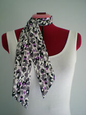 Rock n Roll/Rockabilly Neck/Head Scarf/ Hair Tie. Animal Print.