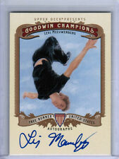 2012 UD GOODWIN CHAMPIONS LEVI MEEUWENBERG AUTOGRAPH AUTO FREE RUNNER
