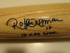Roberto Alomar Firmado Rawlings Rubia bate de béisbol Blue Jays 12x veces All Stars