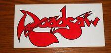Roadsaw Bumper Sticker Decal Original Promo 6x3